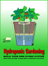 Build Hydroponic Organic Garden Kit Grow Lamp Ballast aerogarden Book on CD
