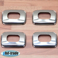 4 Chrome türpinn Bordure En Acier Inoxydable DACIA Logan MCV sandero stepway DUSTER