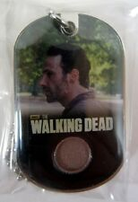Bullsitoy The Walking Dead #C1 Rick Grimes COSTUME DOG TAG! Season 2 Update D