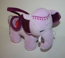 New Gymboree Spice Market Line Plush Elephant Toy Purse One Size 3 4 5 6 7 8 9