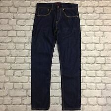 PENGUIN MUNSINGWEAR MENS W32 L32 INDIGO TAPERED FIT JEANS PO300 RRP £70
