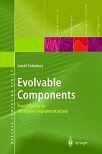 Evolvable Components: From Theory to Hardware Implementations Natural Computing
