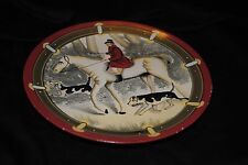 The Gear Collection Toyo Trading Company  fox hunting plate 8 in diameter