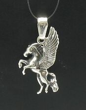 STERLING SILVER PENDANT SOLID 925 CHARM PEGASUS PE000275 EMPRESS