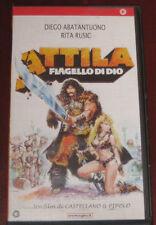 """Videocassetta/VHS """" ATTILA FLAGELLO DI DIO """" cod. PSC3307"""