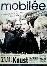 MOBILEE - 2012 - Konzertplakat - Walking on a Twine - Tourposter - Hamburg