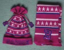 Barbie bufanda y sombrero