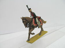 eso-11575 Zinnsoldat Reiter mit Pferd H:ca.9 cm. handbemalt guter Zustand,