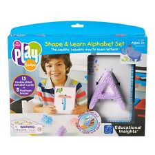 A to Z Playfoam Shape & Learn Alphabet Set Tactile Sensory Play