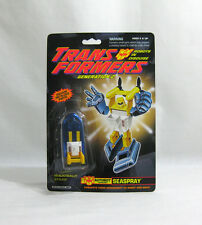 NEW 1992 Transformers ✧ SEASPRAY ✧ Autobot G2 Minibot FREE STAR CASE