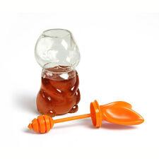 Honigdose Honey Bunny Vorratsglas für Honig mit Honiglöffel Gamago GG1781