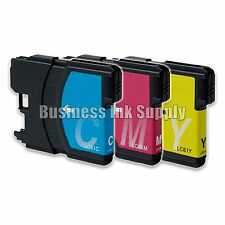 3 COLOR New LC61 Ink Cartridge for Brother MFC-495CW MFC-J410W MFC-295CN LC61