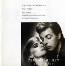 PAUL MCCARTNEY COLLECTION PRESS TO PLAY RARE CD Jewel Case+GIFT The Beatles