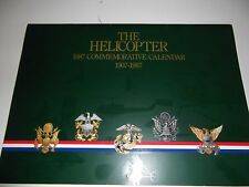 VINTAGE 1987 HELICOPTERS CALENDAR AVIATION SIKORSKY APACHE BOEING AEROPASTIALLE