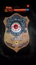 SPOOKY DOORBELL WITH BLINKING EYE AND SOUNDS NEW WITH TAG