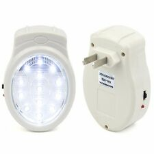 13 LED Rechargeable Home Emergency Automatic Power Failure Outage Light Lamp New