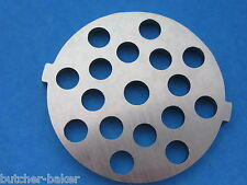 "Meat Grinder plate disc for electric Waring Pro & Oster w/ 5/16"" Large Burger"