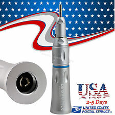 Dental Slow Low Speed Handpiece Cone Straight Contra Angle Straight Nose USA