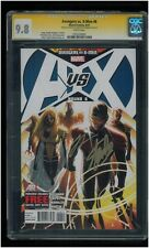 Avengers vs X-Men #6 CGC 9.8 SS Signed Stan Lee & Jonathan Hickman AvX Phoenix