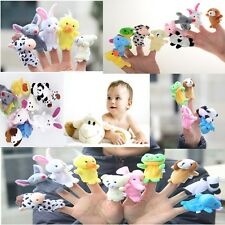 10 Animal Farm Finger Puppet Toy for Baby Boy Girl Learn Story And for Fun-LA