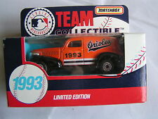 MATCHBOX TEAM COLLECTIBLE 1993 MADE IN CHINA