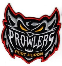 2017 PROWLERS MINOR LEAGUE HOCKEY PATCH PORT HURON PROWLERS FEDERAL LEAGUE