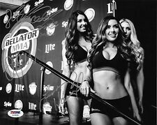 Mercedes Terrell & Dasha Alexandria Lindsey Harrod Signed Photo PSA/DNA Bellator