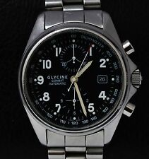 Glycine Combat Chronograph 3838 Valjoux eta  7750 Automatic mens Watch
