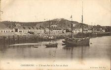 early 1900s - cherbourg - l'avant - port et le fort du roule