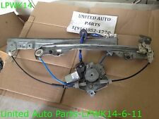 02 03 04 05 06 NISSAN ALTIMA WINDOW REGULATOR W/ MOTOR OEM 80730 8J015