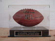 Display Case For A Cam Newton Auburn Tigers Heisman Autographed Football