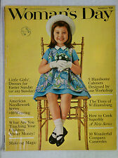 Woman's Day Magazine Little Girls' Dresses For Easter Sunday March 1962 vintage
