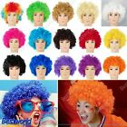 New Fashion Afro Curly Clown Party 70s Disco Cosplay Wig Wigs in 15 Colours