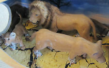 Schleich Wild Life: Lions  Include-Lion, Lioness and Cub   New in Box