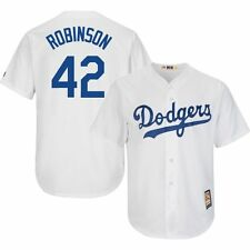 Brooklyn Dodgers Youth Jackie Robinson Cool Base White Home Jersey S