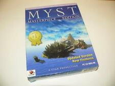 PC CD-ROM ~ Myst ~ Masterpiece Edition ~ Original Big Box