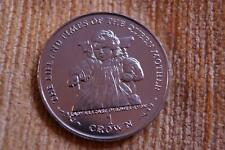 SUPERB UNC 1999 QUEEN MOTHER ISLE OF MAN PROOF CROWN