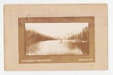 Sheridan,Wyoming,Lake Geneva in the Big Horns,Fishing,Sheridan County,Used,1907