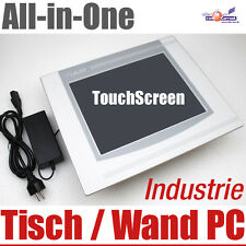 "30.5cm 12"" TOUCH SCREEN ALL IN ONE Panal MURO-COMPUTER PC industria 40gb 512 MB"