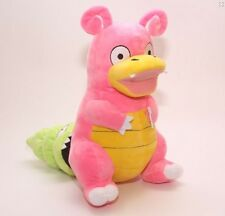 Pokemon Center Slowpoke Slowbro Figure Plush Soft Toy Stuffed Doll 12""