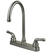 Brushed Nickel RV / Motor and Mobile Home Kitchen Faucet