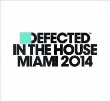 NEW Defected In The House Miami 2014 [digipak] CD (CD) Free P&H