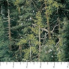Northcott Eagle Pass 21220 72 Forest Scenic BTY Cotton Fabric FREE SHIPPING
