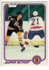 1X RAY BOURQUE 1981 82 O Pee Chee #17 VG  BOSTON BRUINS Super Action