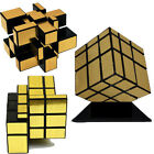 Shengshou Mirror Magic Ultra-smooth Professional Speed Cube Puzzle Twist Gold