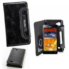Numia Luxus Handy Tasche Etui für LG P880 Optimus 4X HD Book Style Hülle Case