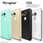 Ringke Dual Coated Ultra Slim Hard Thin Clear Cover For LG Nexus 5X Case