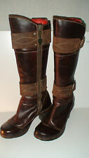 roots.. WOMENS TIMBERLAND  BOOTS   IN GENTLY WORN CONDITION 7W 75354-4126