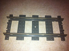 25 x LEGO 9V PIECES STRAIGHT TRACKS WITH METAL - LEGO 4515 -