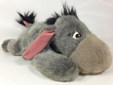 "Disney Store Eeyore Pooh Friend Collectible Bean Bag Plush 15"" Detachable Tail"